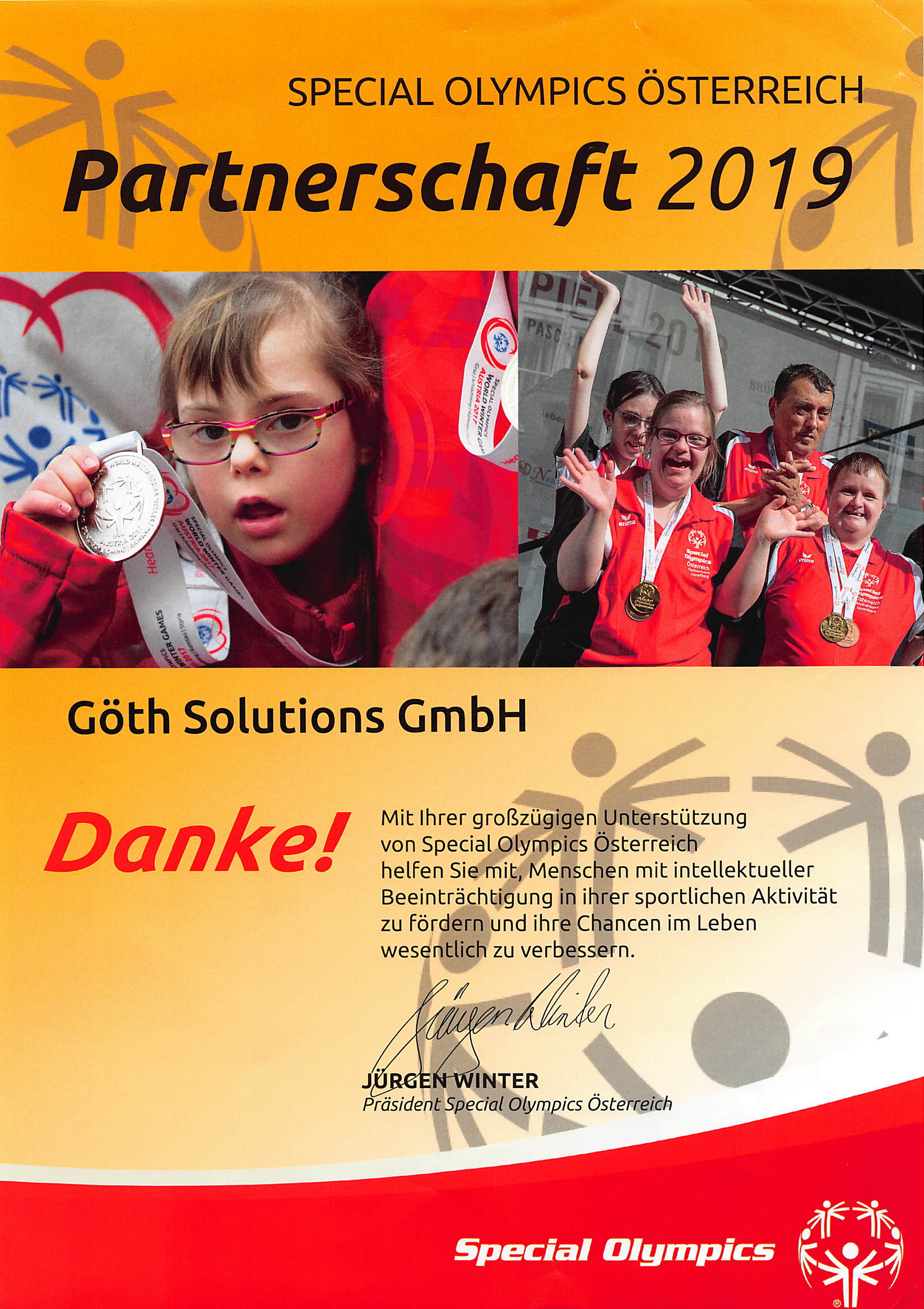 GÖTH Solutions - Special Olympics 2019