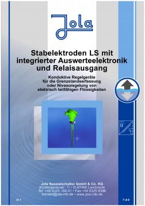 JOLA - Konduktive Stabelektroden System Liqu-Switch