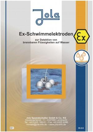 JOLA - Ex Schwimmelektrodenprospekt für Gewässerschutzanlagen / Richtlinie Directive 2014/34/EU (Directive 2014/34/EU) (Kopieren)