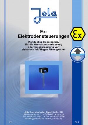 JOLA - Produktkatalog Ex-Elektrodensteuerungen