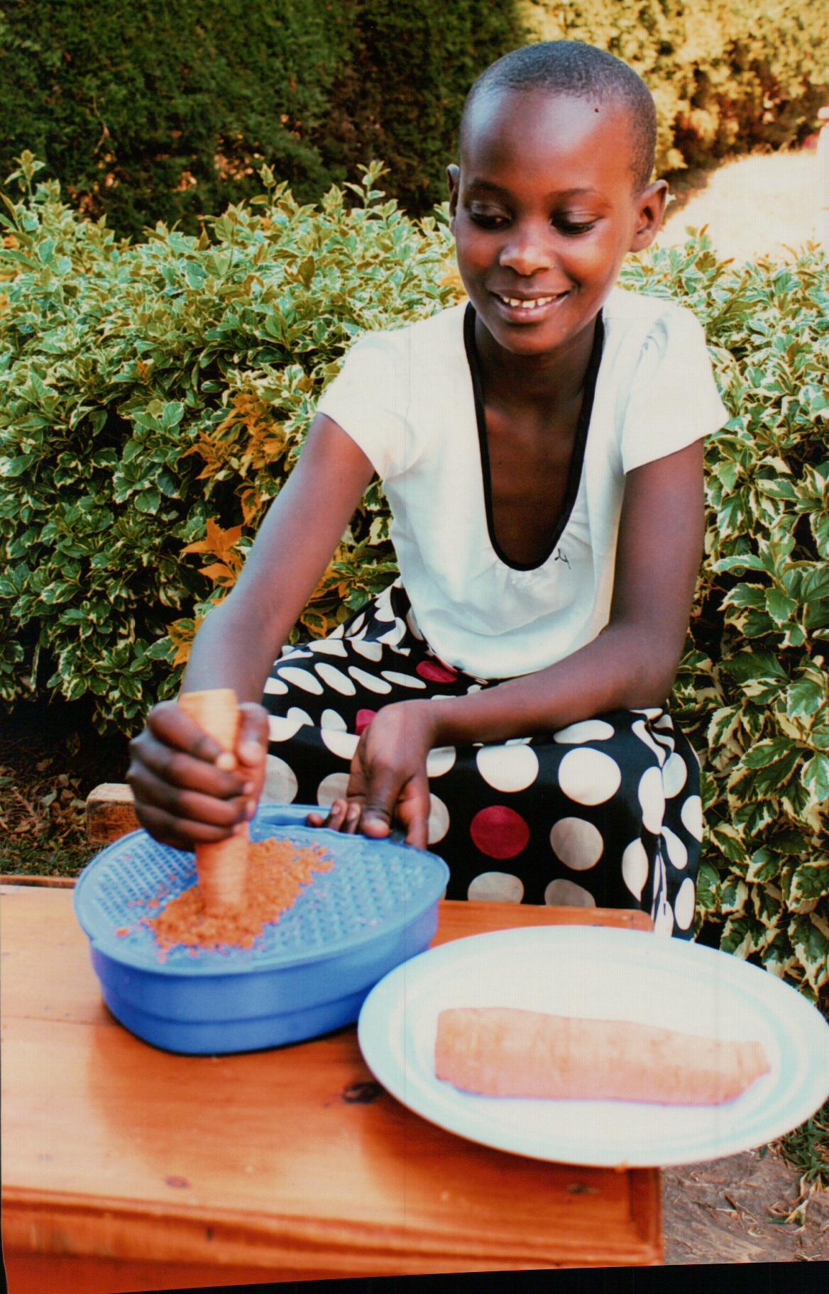 GÖTH Solutions - SOS-Kinderpatenschaft / Patenkind Francoise Juli 2018