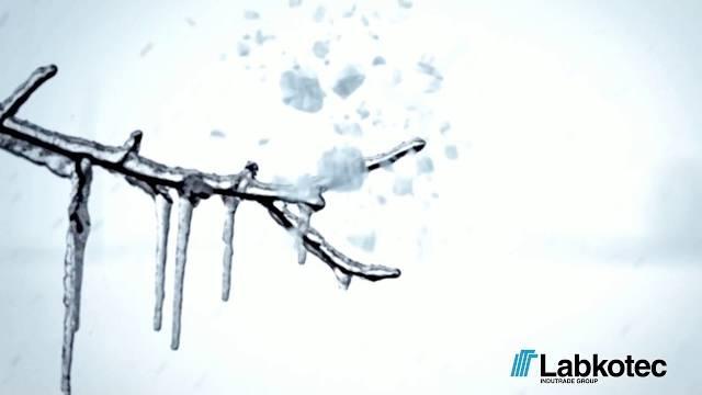 LABKOTEC - Eisdetektion / Eiswarnsystem für Windräder im Windpark