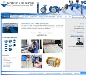 KIRCHNER & TOCHTER - RELAUNCH Neuer Webauftritt unter neuer Adresse