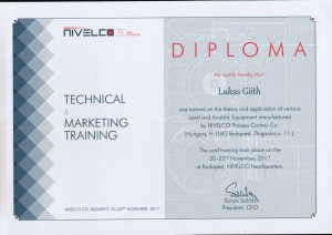 NIVELCO - Technical Marketing Training