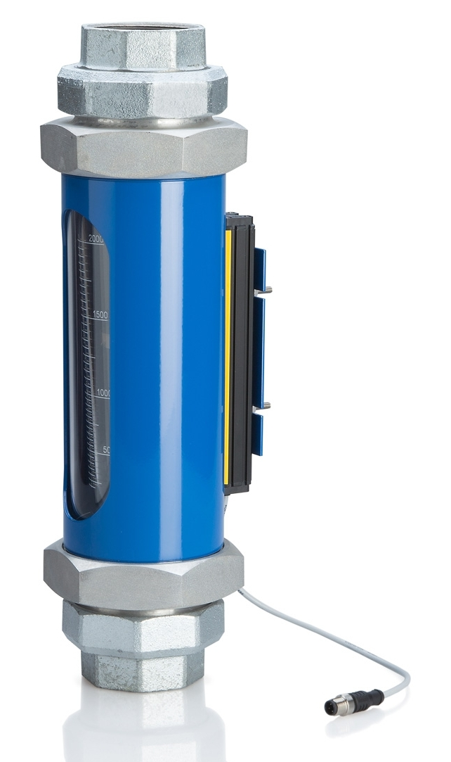 KIRCHNER & TOCHTER - Schwebekörperdurchflussmesser mit Linearweggeber/Analogausgang
