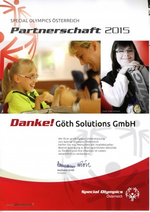 GÖTH Solutions - Special Olympics 2015