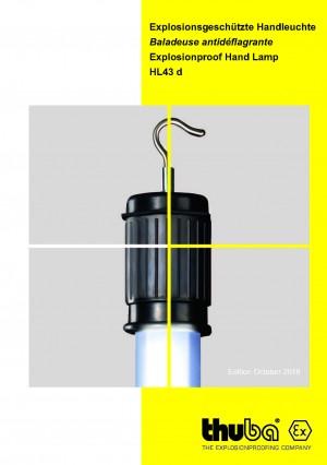 THUBA - Ex Handleuchten LED Zone 0,1,2 + 20, 21, 22