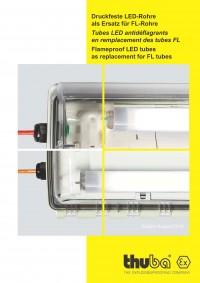 THUBA - Druckfeste LED-Rohre als Ersatz für FL-Rohre für Langfeldleuchten