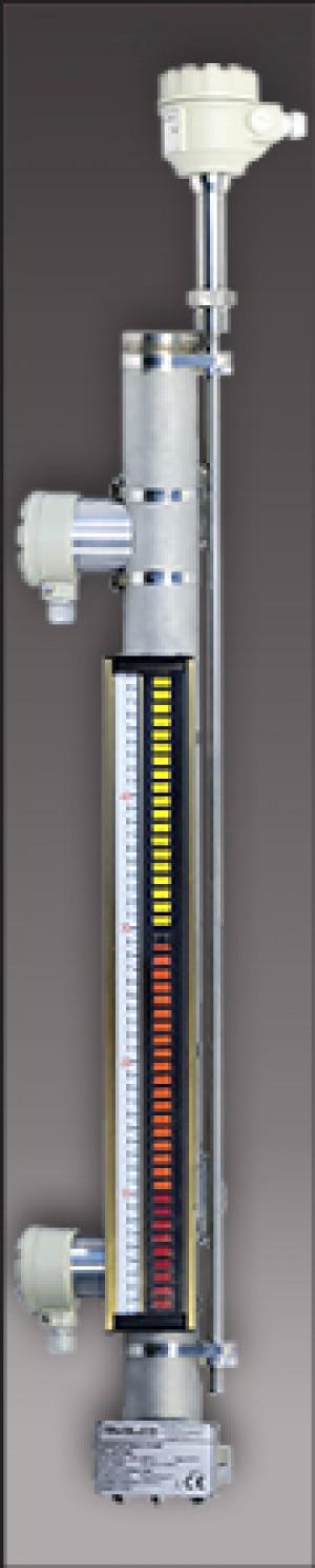 NIVELCO - NIVOFLIP Bypass Magnetklappen Füllstandsanzeige mit 4-20 mA