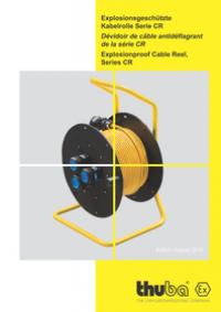 THUBA - Explosionsgeschützte Kabelrolle Serie CR / Ex db eb IIC T6 Gb