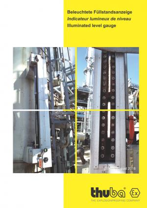 THUBA - Explosionsgeschützte Beleuchtete Füllstandsanzeige Ex db eb IIC/IIB T5 Gb